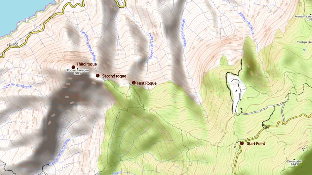 roque-faneque-topo-hiking-map