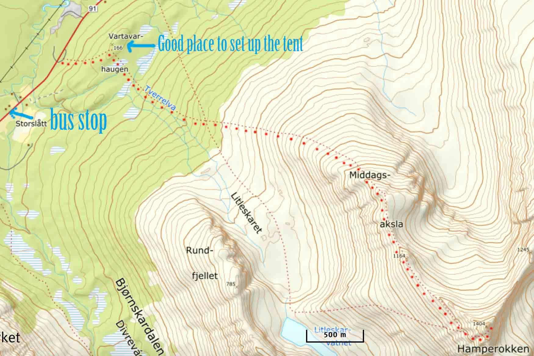 hamperokken-map-kart