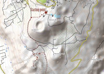 map-hike-teneguia-la-palma