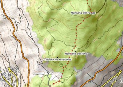 Volcanoes-map-trail