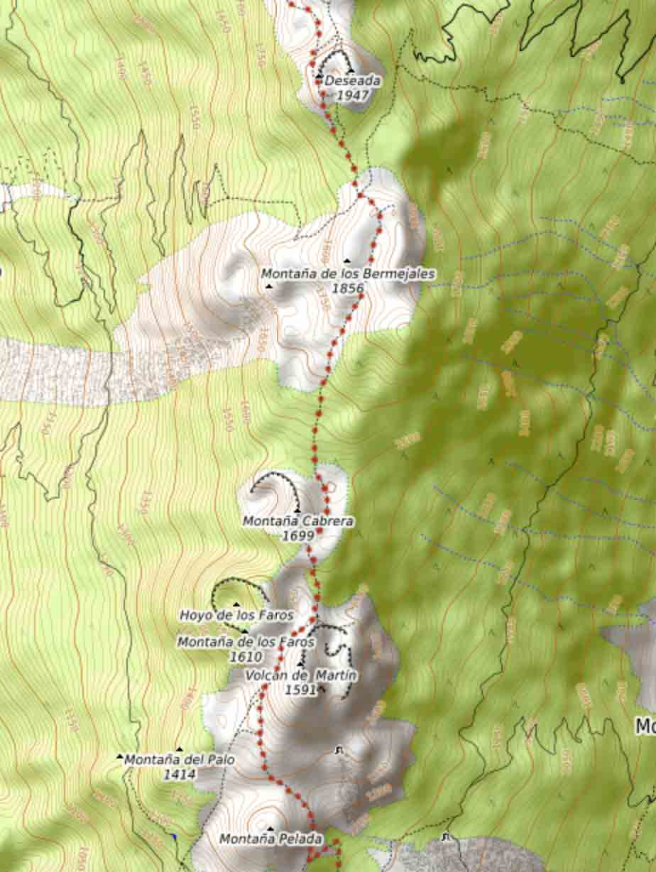 hiking-map-la-palma-volcano-route
