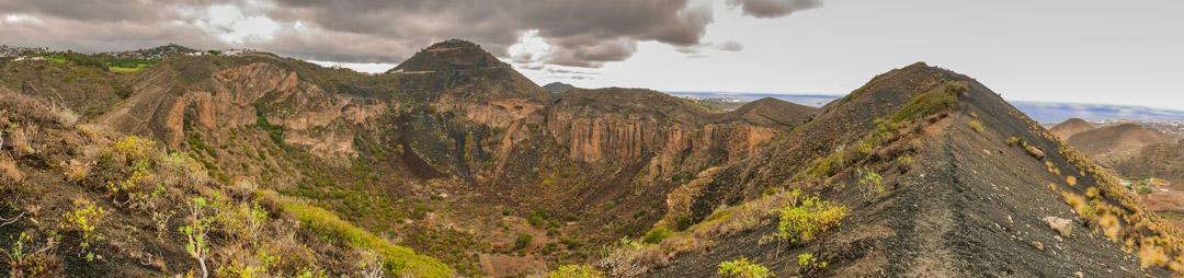 landscape caldera bandama walk