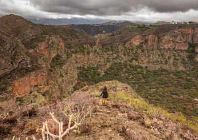 caldera bandama hiker